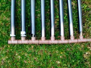 homemade solar water heater