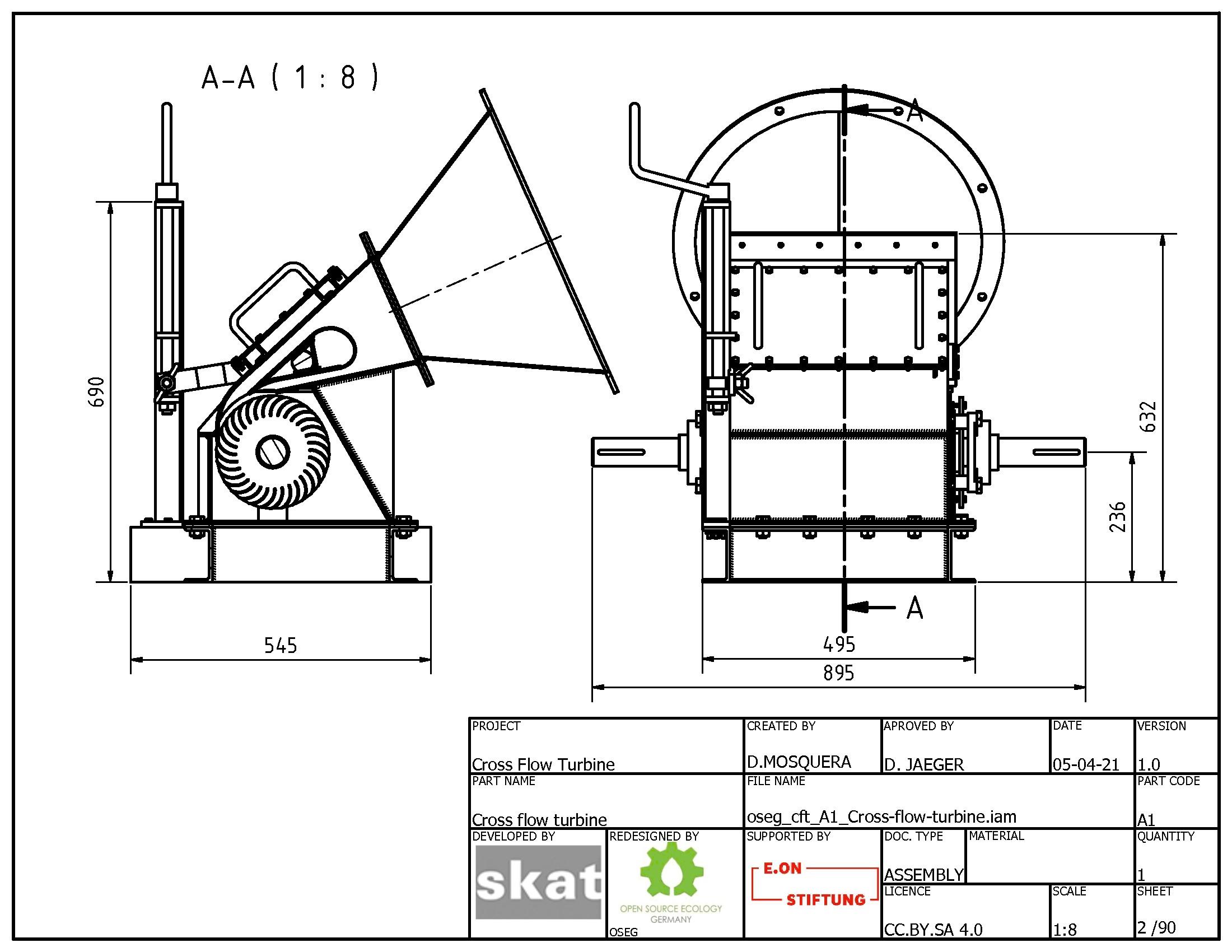 Oseg cft A1 Cross flow turbine 001.jpg