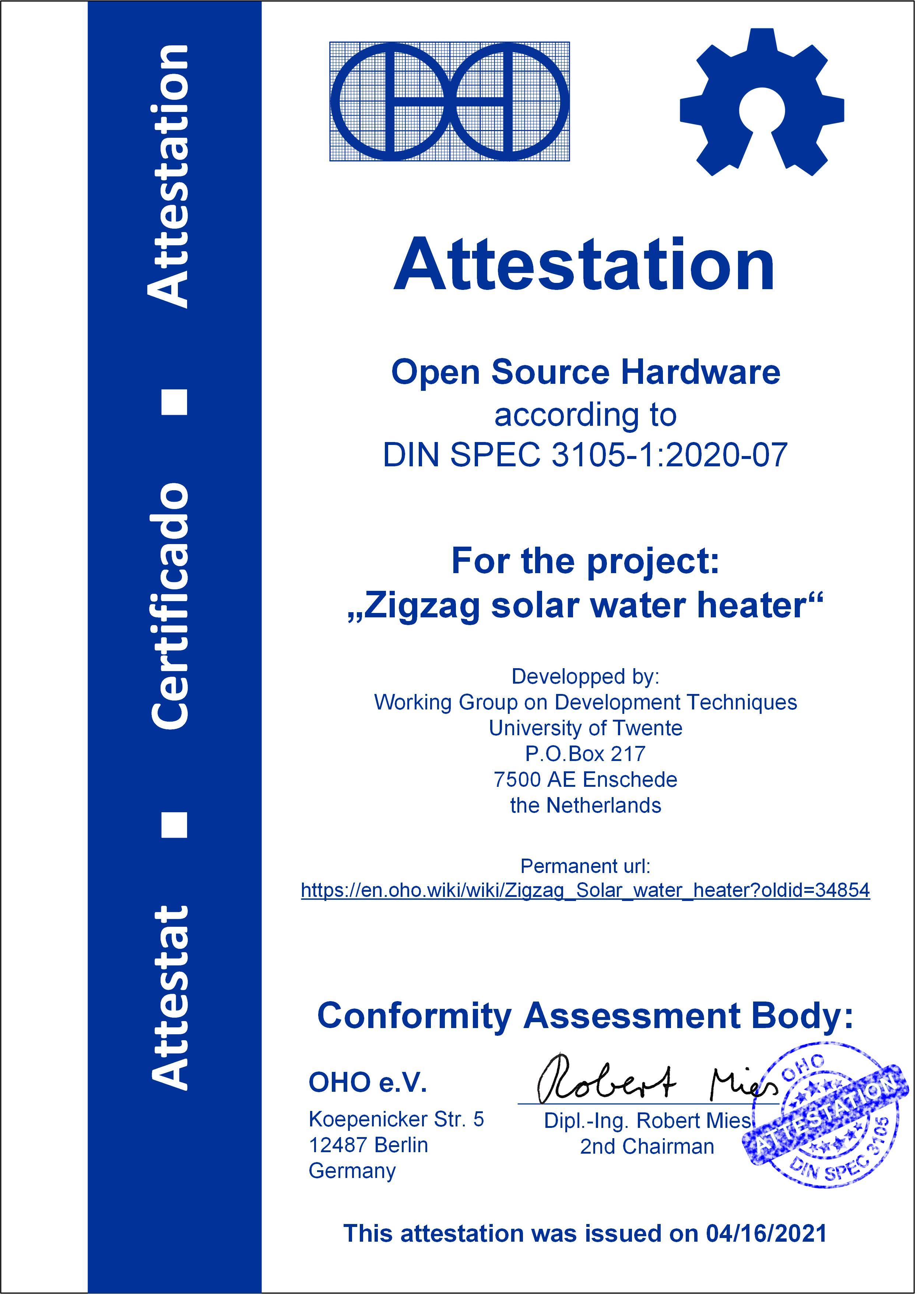 Attestation zigzag solar water heater 02.jpg