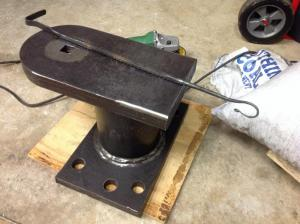 Homemade Slab Anvil - Anvils, Swage